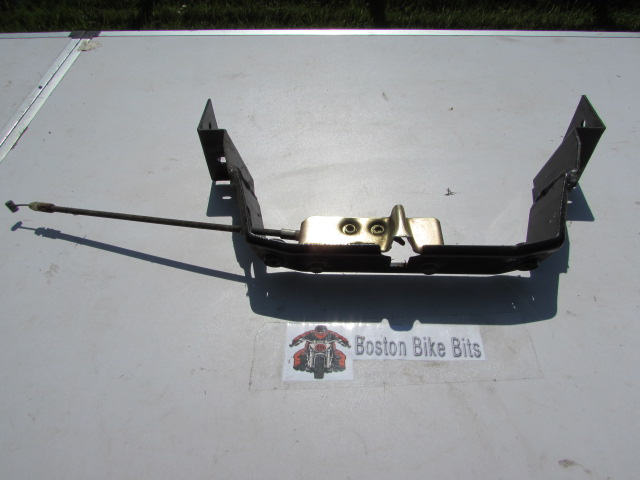 Generic 50 cc Scooter Seat Lock Mechanism with Cable & Bracket