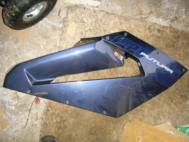 Aprilia RST1000 Right Side Middle Fairing Panel StockNO BBB10205