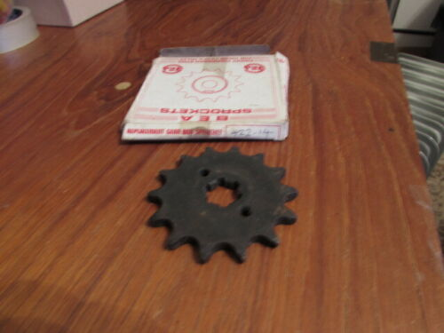 BES Sprockets 14T Gear Box Sprocket 422-14 New Old stock
